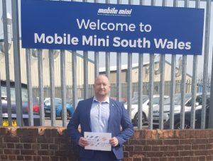 Paul Carey, Mobile Mini UK Branch Manager